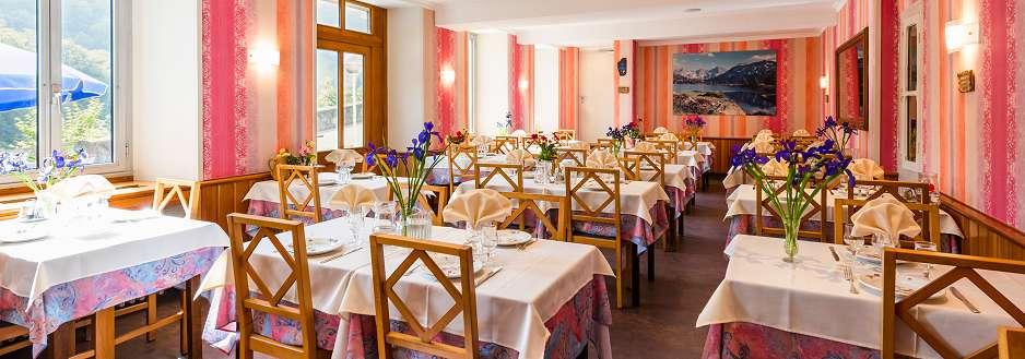 Restaurant Luz Saint Sauveur à l'hôtel Ardiden
