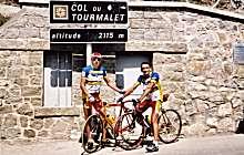 Le cyclisme à Luz dans les Hautes Pyrénées